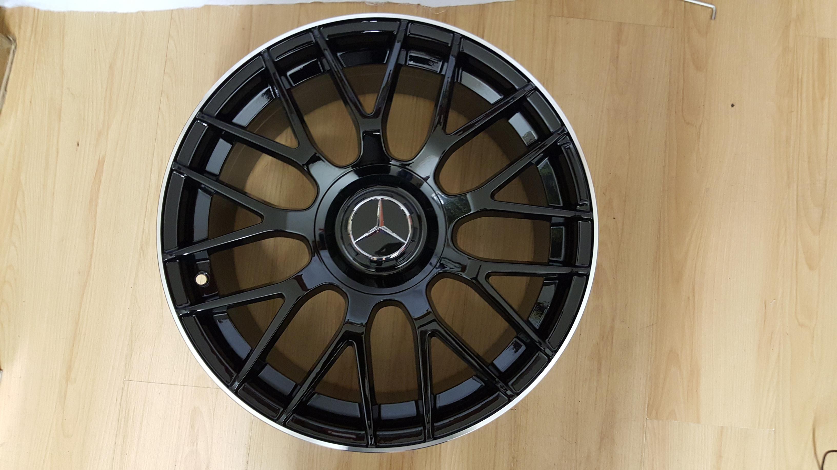Alloy wheels mercedes benz amg model1261 18 8 5j et42 for Mercedes benz amg alloy wheels