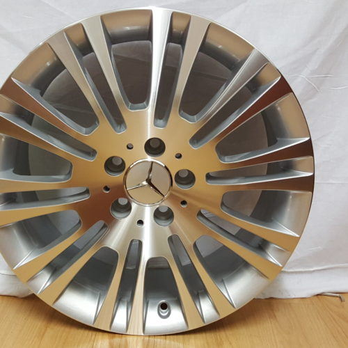 "MERCEDES-BENZ VITO FITMENT. "" MODEL1242. 18×7.5J ET56 5/112PCD SILVER MACHINED"