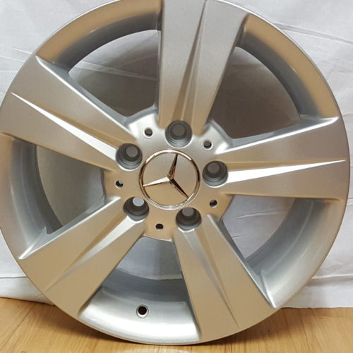 "MERCEDES-BENZ "" VITO "" FITMENT. MODEL5387. 16×6.5J ET50 5/112PCD SILVER"