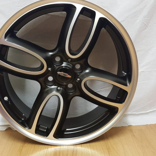 MINI JOHN COOPER WORKS. MODEL4014. 17×7J ET40 4/100PCD MATT BLACK MACHINED