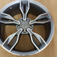 AUDI S3 MODEL5507 19×8J ET45 5/112PCD DARK GUNMETAL MACHINED FACE
