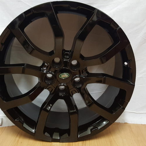 RANGE ROVER FITMENT MODEL5381 20×9.5J ET45 5/120PCD BLACK
