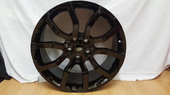 RANGE ROVER FITMENT MODEL5381 20×9.5J ET45 5/120PCD BLACK