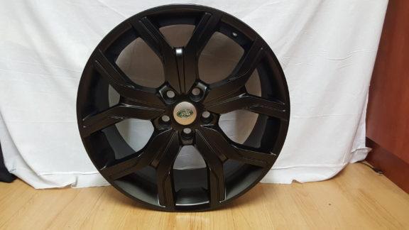 RANGE ROVER FITMENT. MODEL1266. 20×9.5J ET45 5/120PCD BLACK
