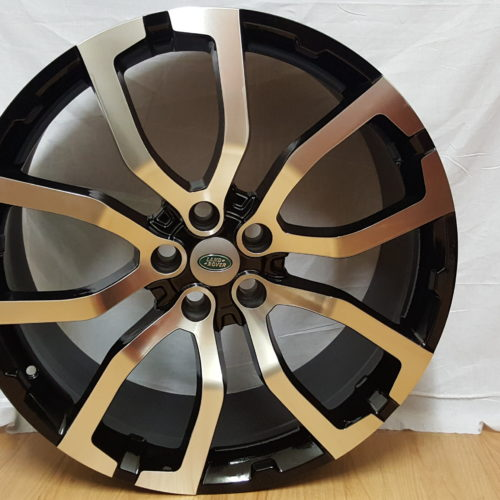 RANGE ROVER MODEL5381 22INCH ×10J ET50 5/120PCD BLACK MACHINED