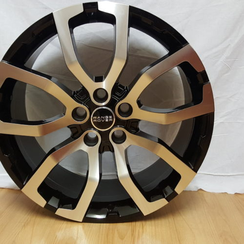 RANGE ROVER FITMENT. MODEL5381 20×9.5J ET50 5120PCD BLACK MACHINED