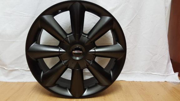 "Alloy Wheels MINI JOHN COOPER WHEELS MODEL8103 , 17"" ET45 5×112/120PCD MATT BLACK"